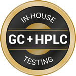 In-House GC + HPLC testing