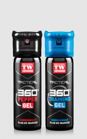 TW1000 Tactical Pepper-Gel Classic Twin-Pack